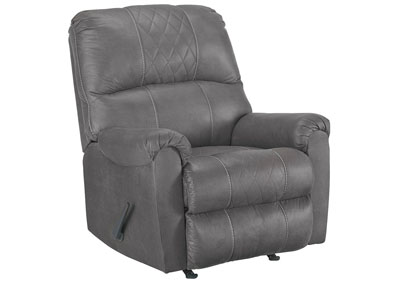 Narzole Dark Gray Rocker Recliner