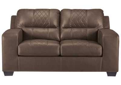 Narzole Coffee Loveseat