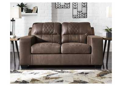 Narzole Coffee Loveseat,Signature Design By Ashley