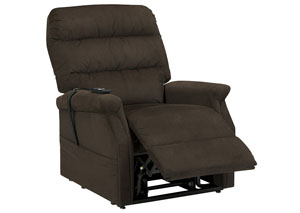 Brenyth Chocolate Power Lift Recliner