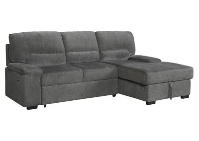 Image for Yantis 2-Piece Sleeper Sectional with Storage