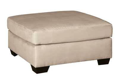 Darcy Stone Oversized Accent Ottoman