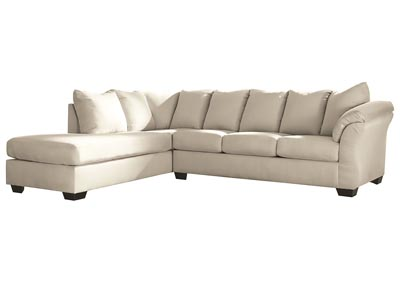 Darcy Stone Sectional w/LAF Chaise