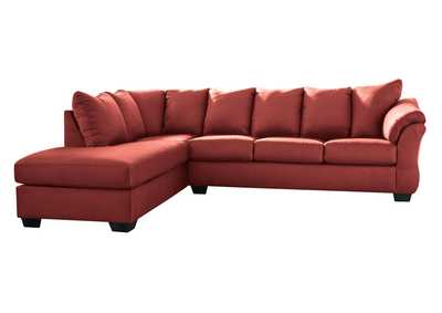 Darcy Salsa Sectional w/LAF Chaise