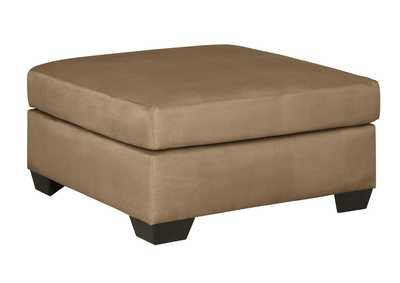 Image for Darcy Mocha Oversized Accent Ottoman
