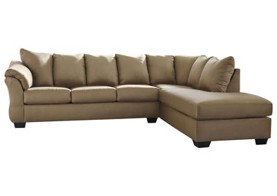 Image for Darcy Mocha RAF Chaise Sectional