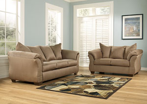 Darcy Mocha Sofa & Loveseat
