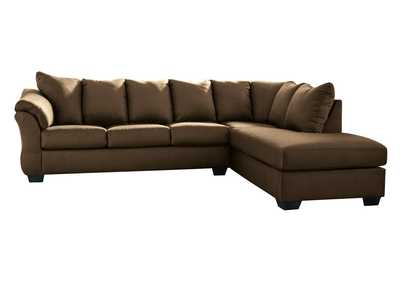 Darcy Cafe Sectional w/RAF Chaise