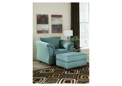 Image for Darcy Sky Chair & Ottoman
