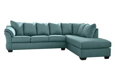 Darcy Sky Sectional w/RAF Chaise