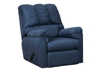 Image for Darcy Blue Rocker Recliner