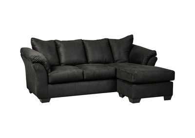 Darcy Black Sofa Chaise,Signature Design By Ashley