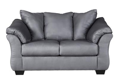 Darcy Steel Loveseat