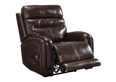 Ailor Brown Power Recliner