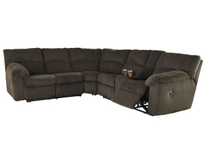 Hopkinton Chocolate Reclining Sectional