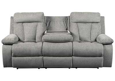 Mitchiner Fog Reclining Sofa w/Drop Down Table