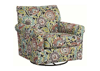 Harrietson Dahlia Swivel Glider Accent Chair