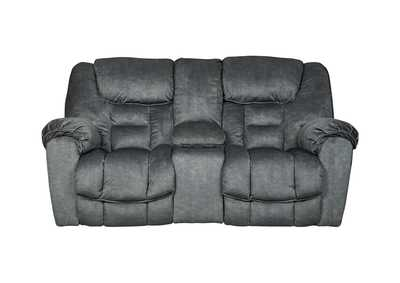 Image for Capehorn Granite Double Reclining Loveseat w/Console