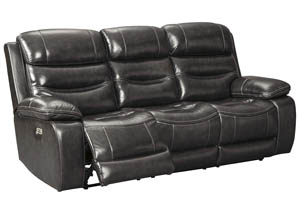 Pillement Metal Power Reclining Sofa