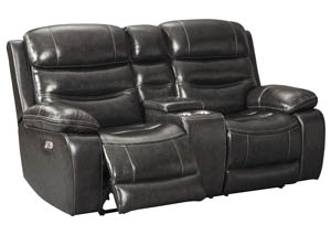 Pillement Metal Power Reclining Loveseat