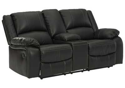 Image for Calderwell Reclining Loveseat with Console