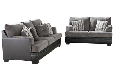 Image for Millingar Smoke Sofa & Loveseat