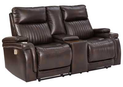 Image for Team Time Power Reclining Loveseat with Console