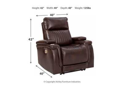 Team Time Power Recliner,Signature Design By Ashley