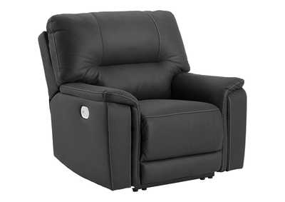Henefer Midnight Power Recliner