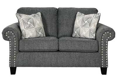 Image for Agleno Charcoal Loveseat