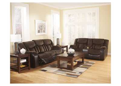 Tafton Java Reclining Sofa U0026 Loveseat