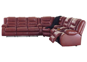 Vacherie Salsa Reclining Sectional