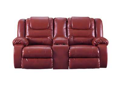 Image for Vacherie Salsa Double Reclining Loveseat w/Console