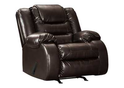 Image for Vacherie Chocolate Rocker Recliner