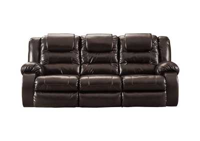 Image for Vacherie Chocolate Reclining Sofa
