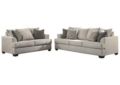 Velletri Pewter Sofa & Loveseat