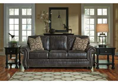Breville Charcoal Sofa,Benchcraft