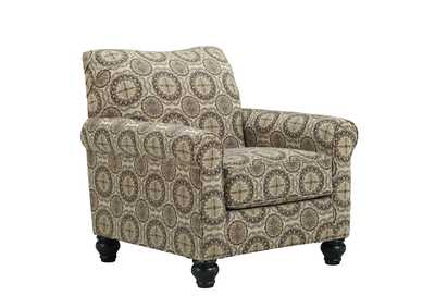 Image for Breville Burlap Accent Chair