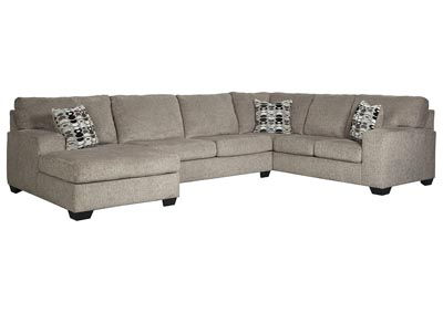 Ballinasloe Platinum LAF Chaise Sectional