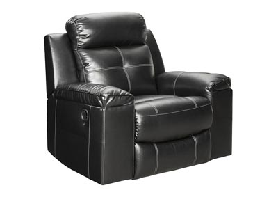 Kempten Black Rocker Recliner