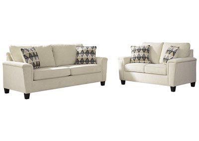 Abinger Natural Sofa and Loveseat