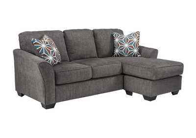 Brise Slate Queen Sofa Chaise Sleeper
