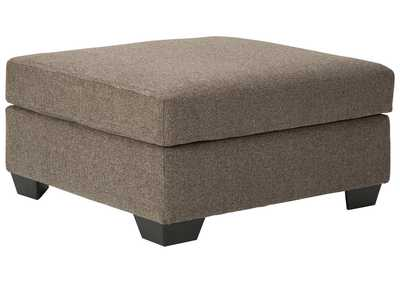 Image for Dalhart Hickory Oversized Ottoman