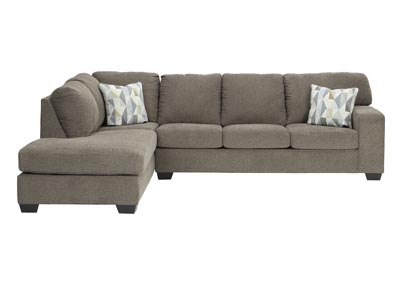 Image for Dalhart Hickory Left-Arm Facing Sofa Chaise