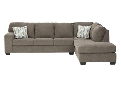 Image for Dalhart Hickory Right-Arm Facing Chaise End Sofa