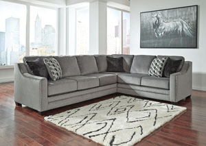 Bicknell Charcoal Right Facing Sofa Sectional