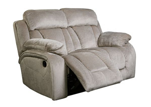 Stricklin Pebble Reclining Loveseat