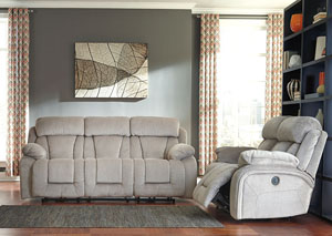 Stricklin Pebble Reclining Sofa & Loveseat
