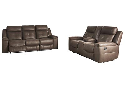 Jesolo Coffee Reclining Sofa & Loveseat
