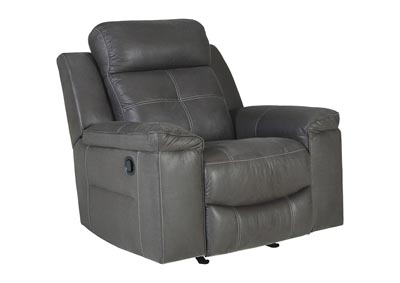 Jesolo Dark Gray Rocker Recliner